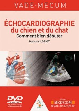 Echocardiographie du chien et du chat - med'com - 9782354031916 -