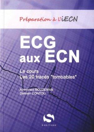 ECG aux ECN - s editions - 9782356400109 -