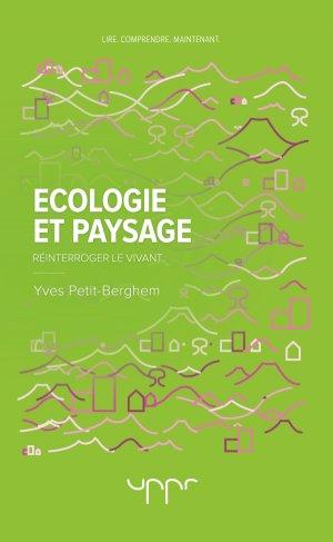 Ecologie et Paysage - uppr - 9782371681729 -