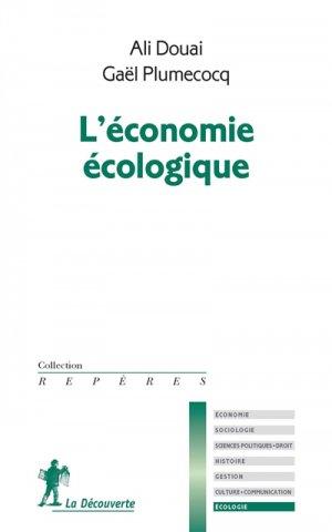 Economie écologique - la decouverte  - 9782707185969 -