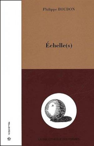 Echelle(s). L'architecture comme travail d'épistémologue - Economica - 9782717843859 -