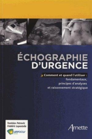 Échographie d'urgences - arnette - 9782718413037 -