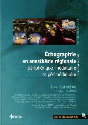 Échographie en anesthésie régionale - arnette - 9782718413389 -