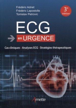ECG en urgence - arnette - 9782718414119 -