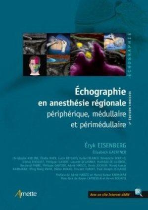 Échographie en anesthésie régionale - arnette - 9782718415055 -