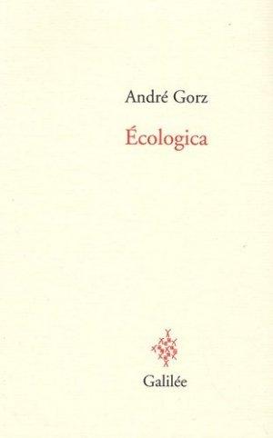 Ecologica - Editions Galilée - 9782718607573 -