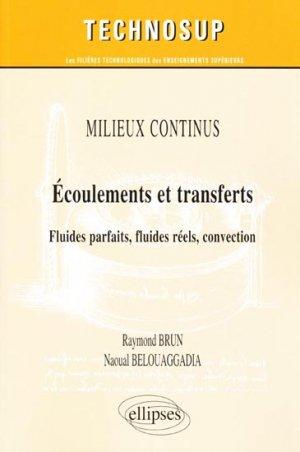 Écoulements et transferts - ellipses - 9782729863340 -