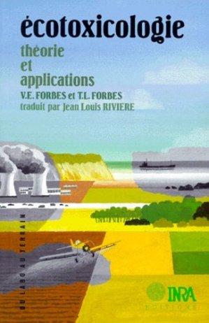 Écotoxicologie : théorie et applications - inra  - 9782738006882 -