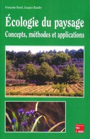 Écologie du paysage - lavoisier / tec et doc - 9782743003050 -