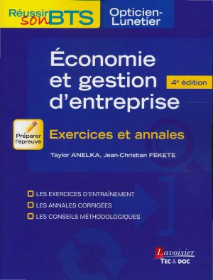Économie et gestion d'entreprise - LAVOISIER / TEC ET DOC - 9782743020224 -