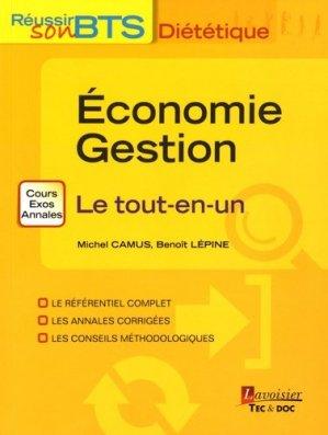 Économie Gestion - Le tout-en-un - lavoisier / tec et doc - 9782743020965 -