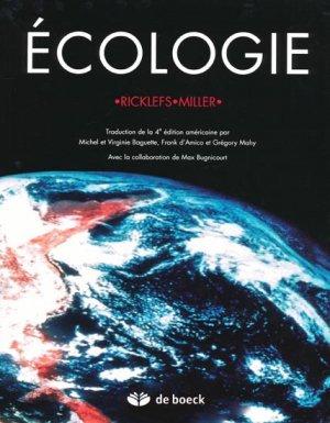 Écologie - de boeck superieur - 9782744501456 -