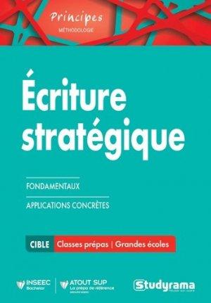 Ecriture stratégique - Studyrama - 9782759032600 -