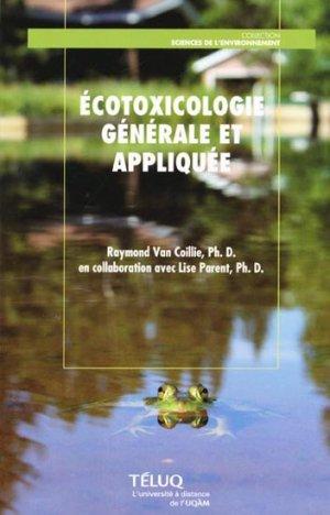 Écotoxicologie générale et appliquée - télé-université - 9782762423587 -