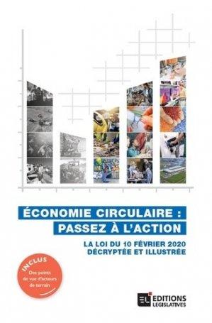 Economie circulaire : passez à l'action - legislatives - 9782850864209 -
