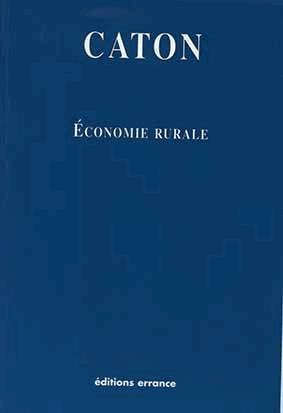 Économie rurale - errance - 9782877722759 -