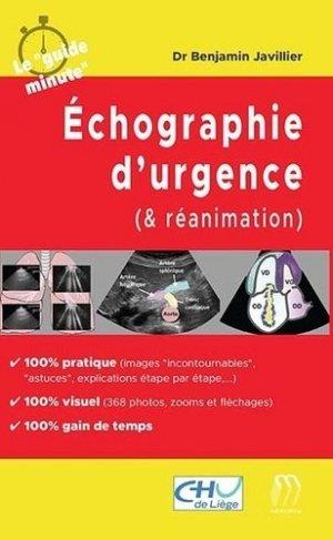 Echographie d'urgence (& réanimation) - medicilline - 9782915220940 -