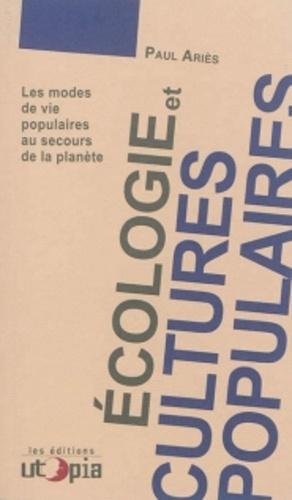 Ecologie et cultures populaires - utopia - 9782919160181 -