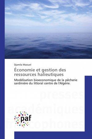 Économie et gestion des ressources halieutiques - presses académiques francophones - 9783841642424