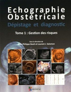 Echographie obstétricale - Dépistage et diagnostic - sauramps medical - 9791030300673 -