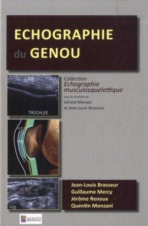 Echographie du genou - sauramps médical - 9791030302097 -