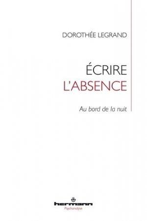 Ecrire l'absence - hermann - 9791037001429