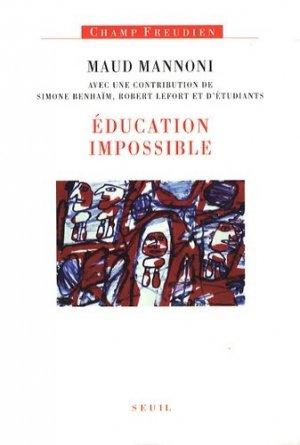 Education impossible - du seuil - 9782020972376 -
