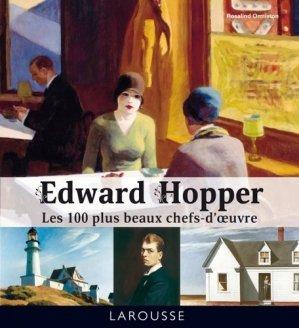 Edward Hopper. Les 100 plus beaux chefs-d'oeuvre - Larousse - 9782035876355 -