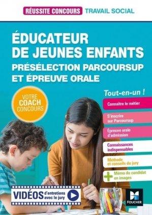 Educateur jeunes enfants - EJE - foucher - 9782216156849 -