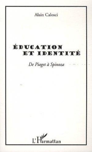 Education et identité - l'harmattan - 9782296545984 -