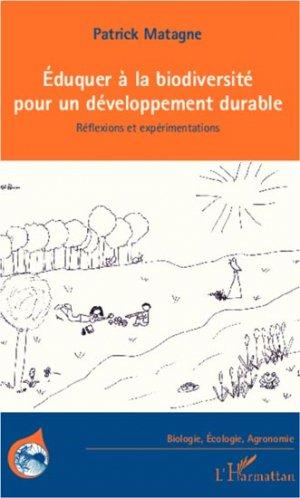 Eduquer à la biodiversité pour un développement durable - l'harmattan - 9782296993549
