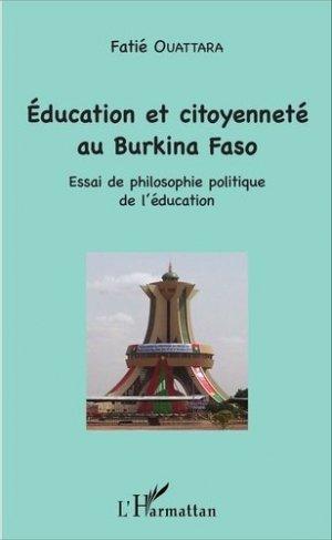 Education et citoyenneté au Burkina Faso - l'harmattan - 9782343092386 -