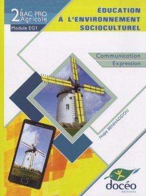Education à l'environnement socioculturel - doceo - 9782354971953 -