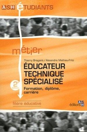 Éducateur technique spécialisé - ash - 9782757304563