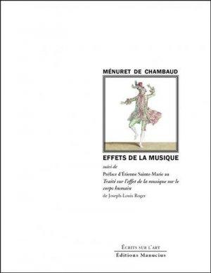 Effets de la Musique - Suivi de la Préface d'Étienne Sainte- - Editions Manucius - 9782845787636 -