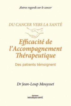 Efficacité de l'accompagnement thérapeutique - mosaique sante - 9782849390887