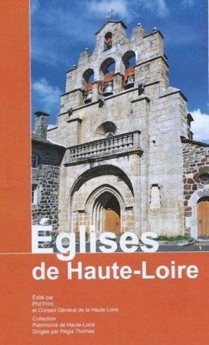 Eglises de Haute-Loire - phil'print - 9782746682030 -