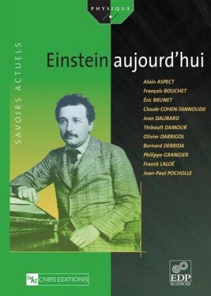 Einstein aujourd'hui - EDP Sciences - 9782868837684 -