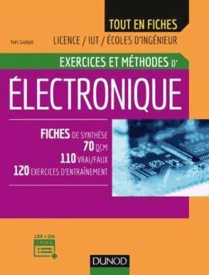 Electronique - Exercices et méthodes - dunod - 9782100770786 -