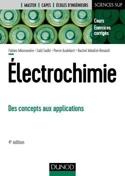 Électrochimie - dunod - 9782100790241 -