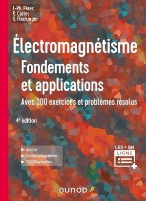Électromagnétisme - dunod - 9782100806652 -