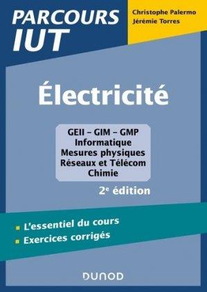 Electricité - 2e éd. - dunod - 9782100809332 -