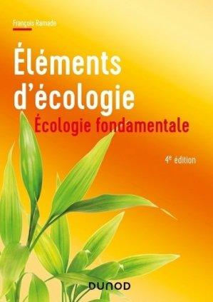 Elements d'écologie - Dunod - 9782100815722 -