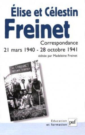 Elise et Célestin Freinet - puf - presses universitaires de france - 9782130542742 -