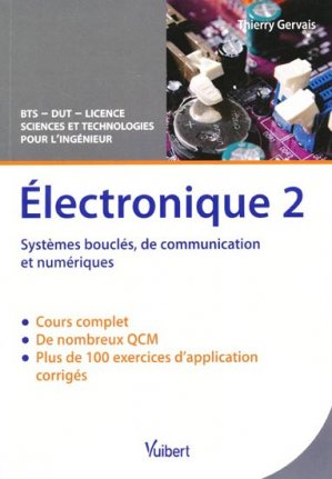 Électronique Tome 2 - vuibert - 9782311005028 -