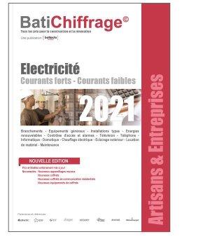 Electricité 2021 - batichiffrage - 9782358061292 -