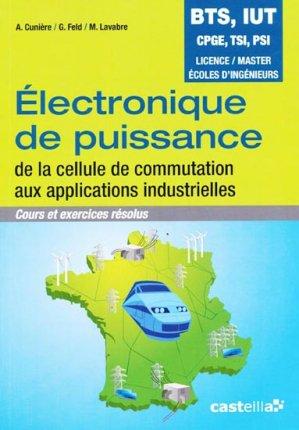 Électronique de puissance - casteilla - 9782713532542 -