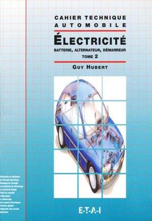 Électricité - Tome 2 - etai - 9782726883860