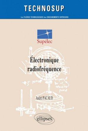 Électronique radiofréquence - ellipses - 9782729800734 -