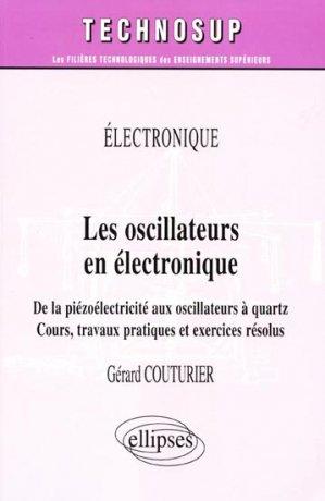 Les oscillateurs en électronique - ellipses - 9782729822903 -
